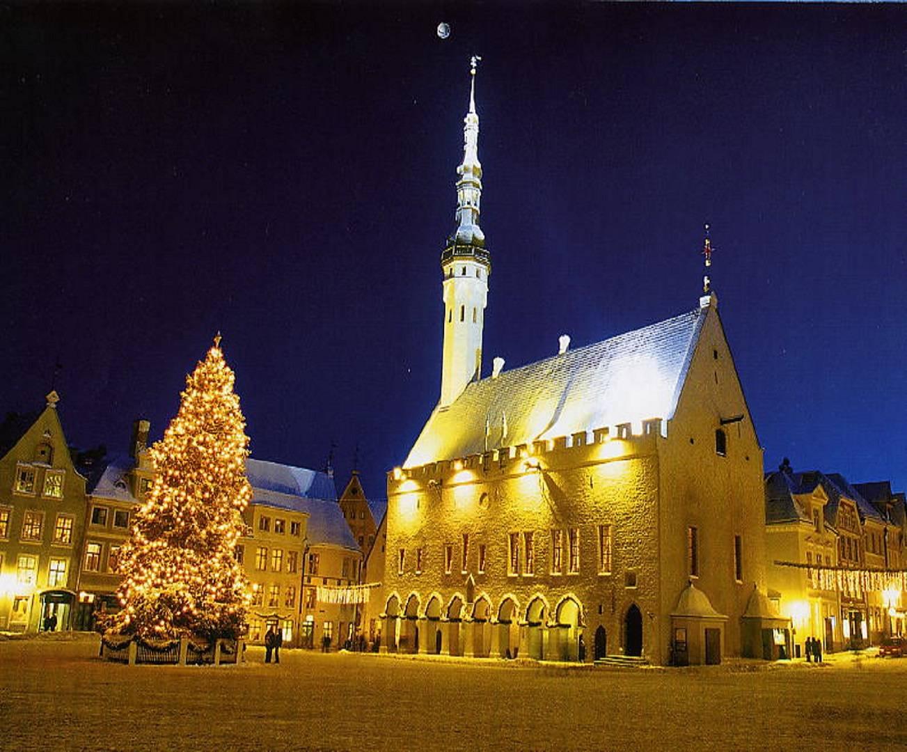 Chrismas market Tallinn Estonia Baltic States tallinn