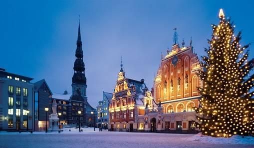 riga christmas market latvia baltic states riga